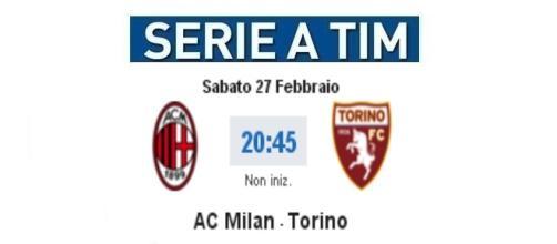 Milan-Torino in diretta su BlastingNews