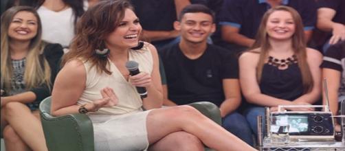 Mônica no Altas Horas da Rede Globo