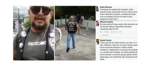 Neonazista brasileiro tem apoio entre internautas.