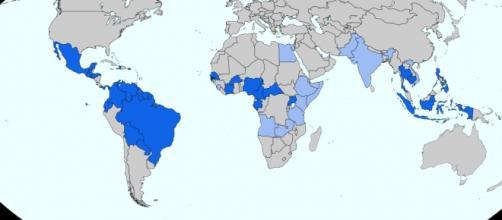 Spread of Zika continues (Wikimedia)