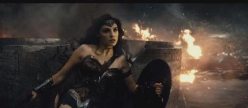 Wonder Woman in Batman x Superman (Flickr)