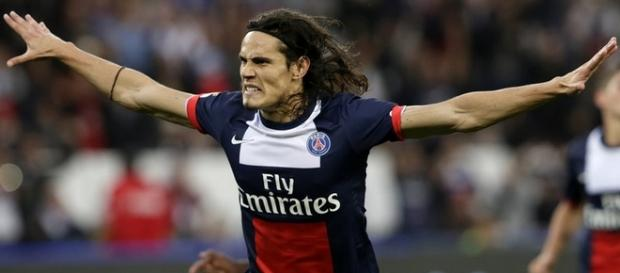 Cavani Paris Saint Germain 2015