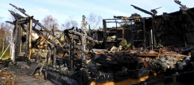Hogar de asilo quemado en Munkedal.