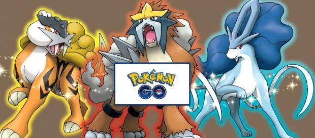 Los Pokémon legendarios que aparecerían en el Go