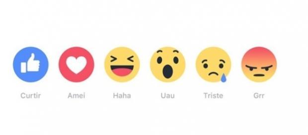 Novo CURTIR do Facebook inclui 5 opções de reações