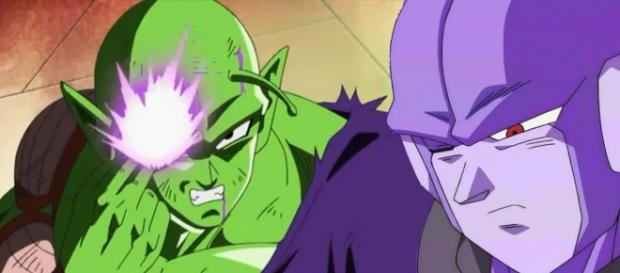 Piccolo vs Frost en Dragon Ball Super