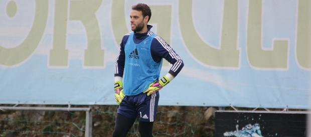 Sergio Álvarez entrenando. Fuente: celtavigo.net