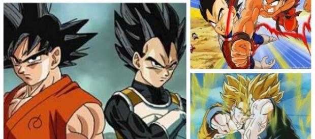 Vegeta sería más fuerte que Goku