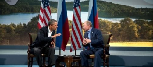 Obama and Putin were friends in 2013.