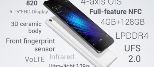 XIaomi Mi5 con Qualcomm Snapdragon 820