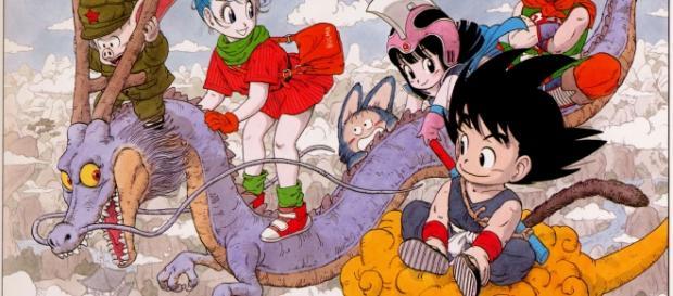 Ilustración de el manga de 'Dragon Ball'