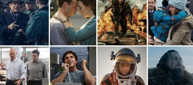 Las ocho nominadas a Mejor Película