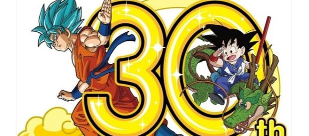 Logo oficial por los 30 años del anime