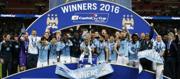 Manchester City, Campeón de la Capital One Cup.