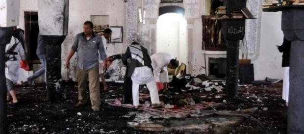 Mezquita chiíta en Rasul al Azam en Bagdad