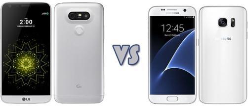 Confronto: LG G5 vs Samsung Galaxy S7