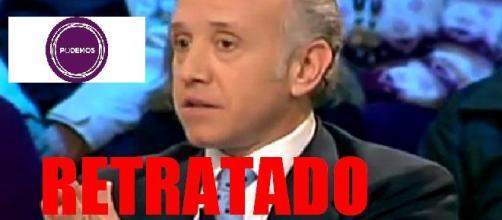 Eduardo Inda ha quedado retratado