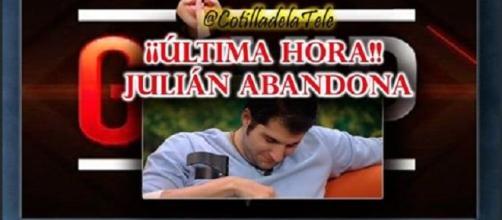 Julián Contreras ha abandonado Gh Vip 4