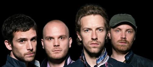 Los componentes de la banda Coldplay