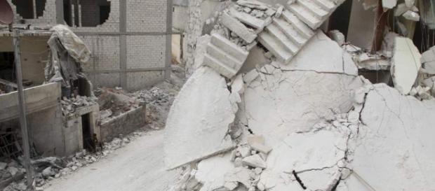 Así han quedado los edificios después del ataque