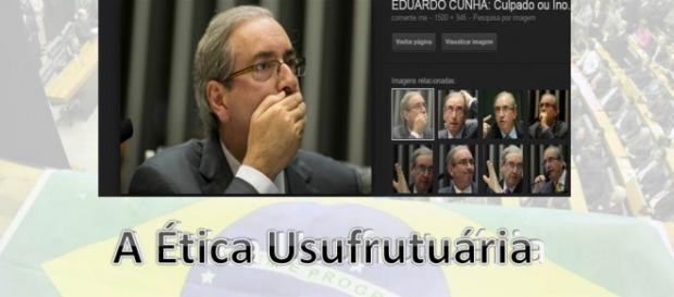Eduardo Cunha, ética usufrutuária