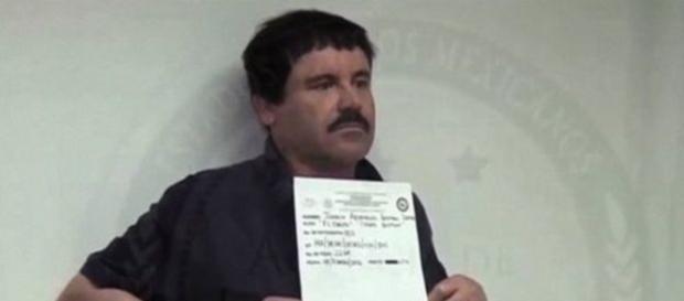 El Chapo Guzmán en la prisión.