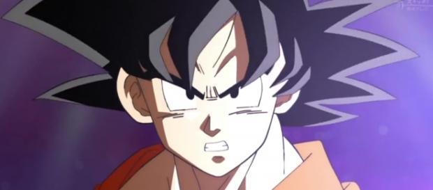 Goku ante la transformación de Frost