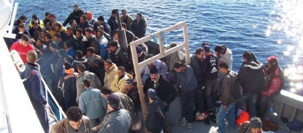 Dalla Libia il 90% degli immigrati in Italia