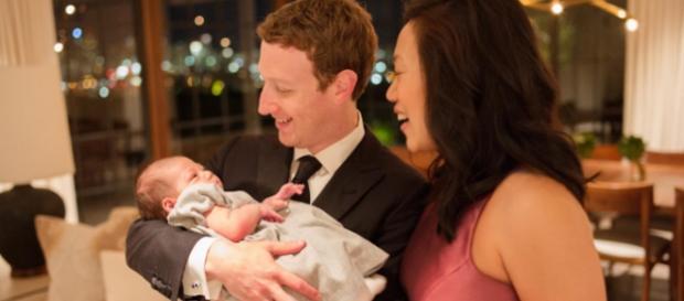 Mark Zuckerberg, Priscilla und Tochter Max