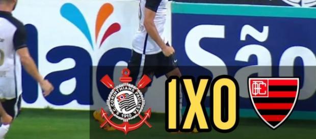Rodriguinho marcou o gol da vitória corintiana