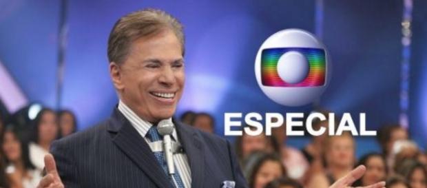 Silvio Santos na Rede Globo - Foto/Reprodução