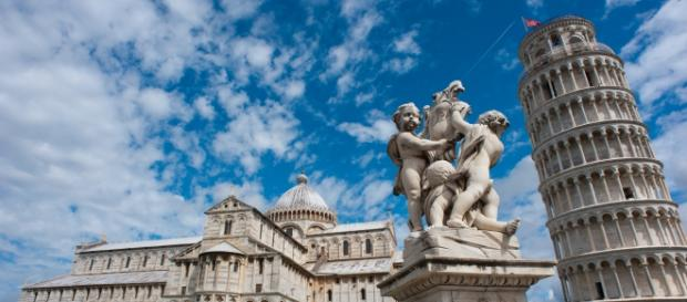 Torre Pendente, símbolo de Pisa (Foto: Wikimedia)