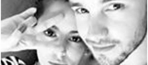 Liam e Cheryl foi foto de perfil do Instagram