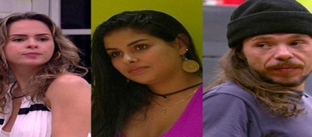 """Ana Paula, Munik, e Tamiel. Emparedados do """"BBB16"""""""