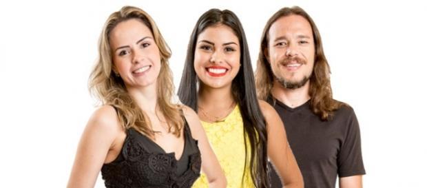 Ana Paula, Munik e Tamiel estão no paredão triplo