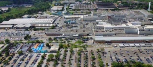 Fábrica da GM em São Caetano do Sul