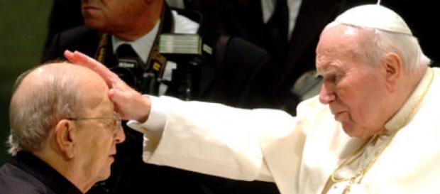 Jan Paweł II błogosławi pedofila Degollado