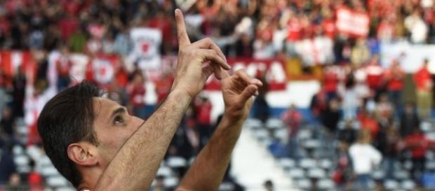 Jonas é uma das grandes armas do Benfica