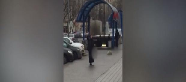 Niania zabójczyni w Moskwie (ren.tv scrn)