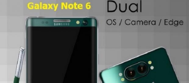 Samsung Galaxy 6 coming up soon (Twitter)