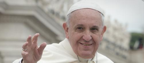 El Papa Francisco en la canonización