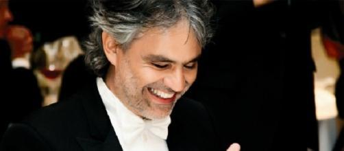 Il tenore italiano Andrea Bocelli.