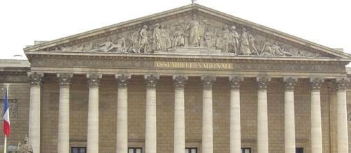 L'ingresso del Parlamento francese