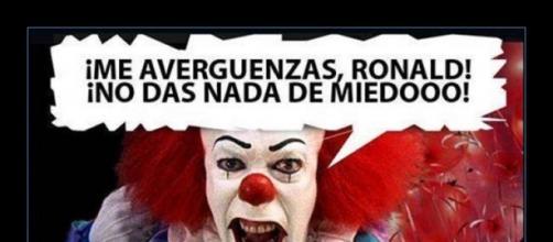 Payasos Maléficos. Ronald más asesino que nadie