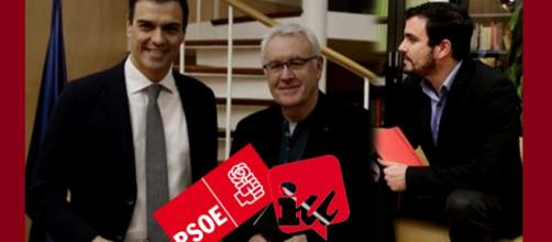 PSOE e IU entablan la primera ronda de contactos