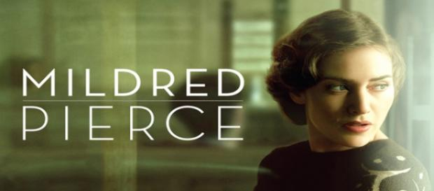 Cartel promocional de 'Mildred Pierce'