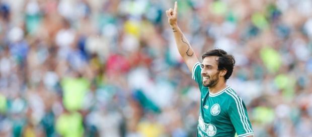 Valdivia caso de amor e ódio com Palmeiras