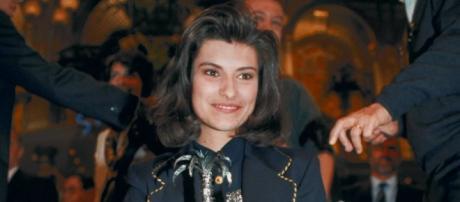 La premiazione del 1993 Laura Pausini vincitrice