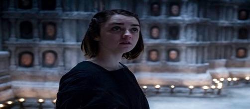 Arya Stark en la 'Casa de Blanco y Negro'
