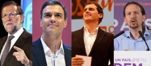 Los líderes de los principales partidos políticos